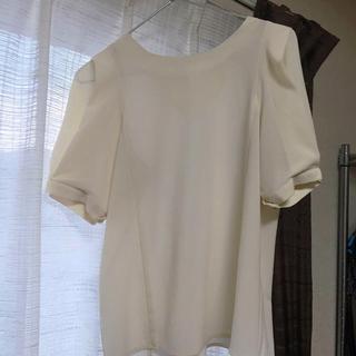 ミスティウーマン(mysty woman)のミスティウーマン パフ袖ブラウス(Tシャツ(半袖/袖なし))