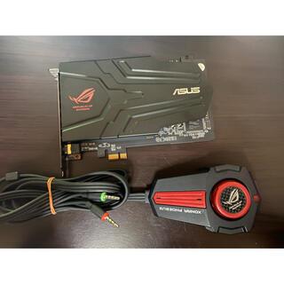 エイスース(ASUS)のASUS ROG XONAR PHOEBUS  サウンドカード(PCパーツ)