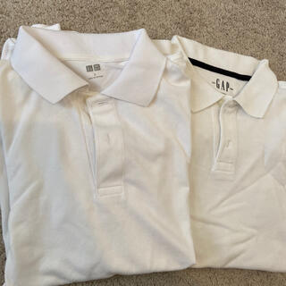 ユニクロ(UNIQLO)のポロシャツ 白 レディース(ポロシャツ)