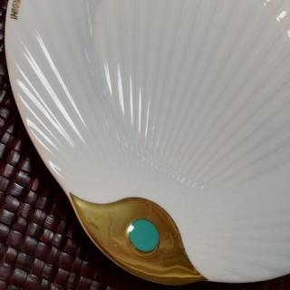 ミキモト(MIKIMOTO)のお皿2枚+soapディッシュ+おまけ琉球グラス(食器)