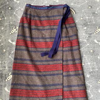 ヒステリックグラマー(HYSTERIC GLAMOUR)のヒステリックグラマー。巻きスカート。(ロングスカート)