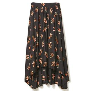 ドロシーズ(DRWCYS)の【DRWCYS】 花柄バックロングスカート(ロングスカート)