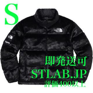 シュプリーム(Supreme)の黒 S Supreme North Face Fur Nuptse Jacket(その他)
