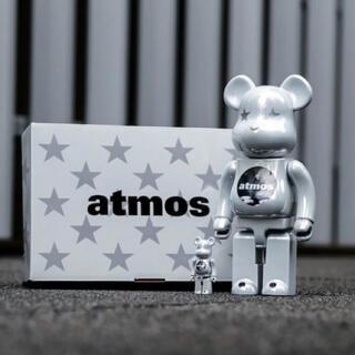 アトモス(atmos)のBE@RBRICK atmos WHITE CHROME 100% & 400%(その他)