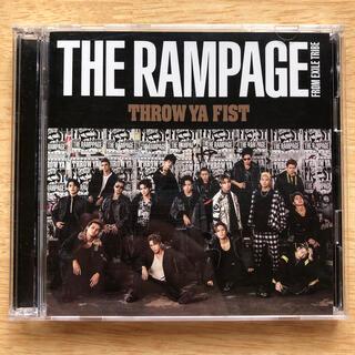 ザランページ(THE RAMPAGE)のTHROW YA FIST(ライブDVD付)(ポップス/ロック(邦楽))