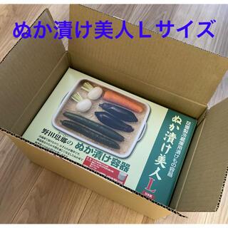 ノダホーロー(野田琺瑯)の野田琺瑯 ぬか漬け美人 Lサイズ TK-58 5.8L(容器)