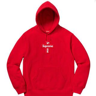 シュプリーム(Supreme)の商品名:supreme Cross Box Logo パーカー(パーカー)