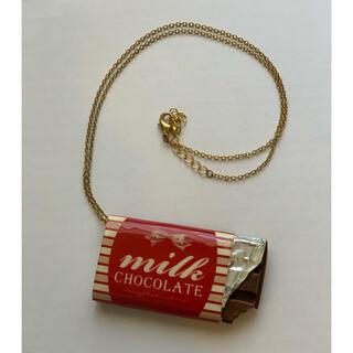 Q-pot. - TiTi 板チョコネックレス