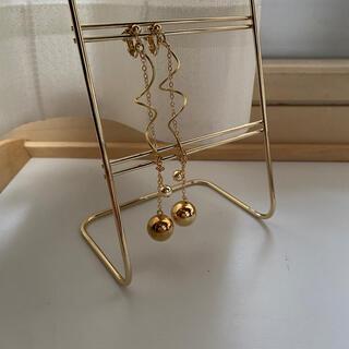 リリーブラウン(Lily Brown)のgold rasen earring.pierce(イヤリング)