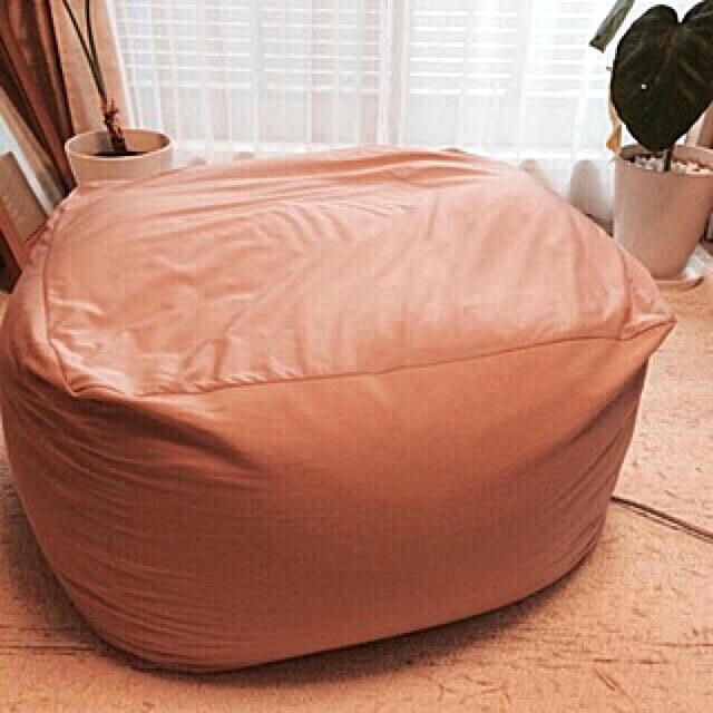MUJI (無印良品)(ムジルシリョウヒン)の体にフィットするソファ インテリア/住まい/日用品のソファ/ソファベッド(ビーズソファ/クッションソファ)の商品写真