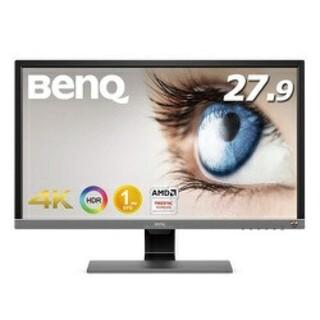 新品同様 BENQ EL2870U 4k 1ms(ディスプレイ)