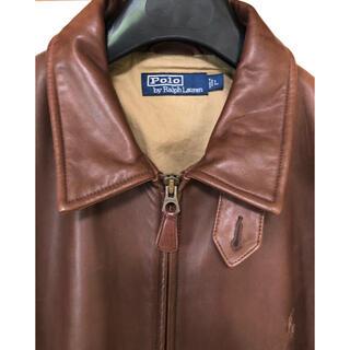 ポロラルフローレン(POLO RALPH LAUREN)のポロラルフローレン 革ジャケット【美品】(レザージャケット)