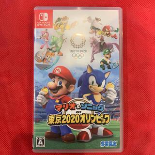 ニンテンドースイッチ(Nintendo Switch)のマリオ&ソニックAT 東京オリンピック(家庭用ゲームソフト)