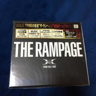 ザランページ(THE RAMPAGE)の美品 THE RAMPAGE(DVD2枚付)初回限定(ポップス/ロック(邦楽))
