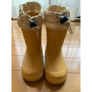 ムジルシリョウヒン(MUJI (無印良品))の無印良品 子供用 長靴・レインシューズ 15~16cm(長靴/レインシューズ)