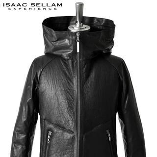 アイザックセラムエクスペリエンス(ISAAC SELLAM EXPERIENCE)のISAAC SELLAM SHEARLING/DOWN HOODED JKT(レザージャケット)