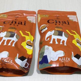 カルディ(KALDI)のカルディ オリジナル インスタント チャイ 2袋(茶)