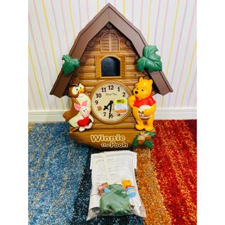 ディズニー(Disney)のディズニータイム 掛時計 FW525B(掛時計/柱時計)