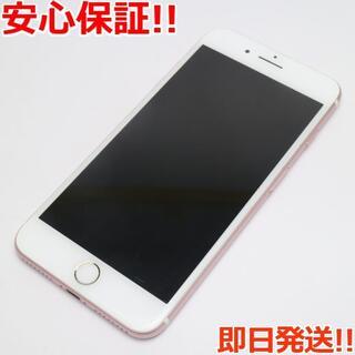 アイフォーン(iPhone)の美品 SOFTBANK iPhone7 PLUS 128GB ローズゴールド (スマートフォン本体)