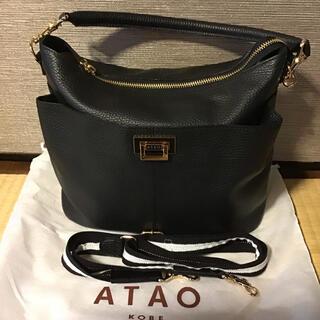 アタオ(ATAO)のATAO ウェークエンド ブラック(ショルダーバッグ)