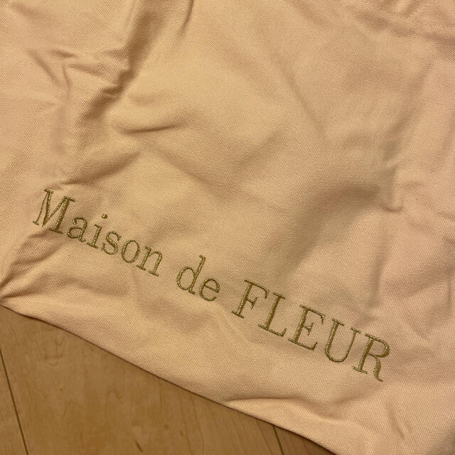 Maison de FLEUR(メゾンドフルール)のLサイズトート レディースのバッグ(トートバッグ)の商品写真