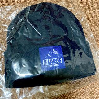 エクストララージ(XLARGE)の専用❤️エクストララージ ニット帽 帽子 キッズ 新品未使用 ネイビー(帽子)