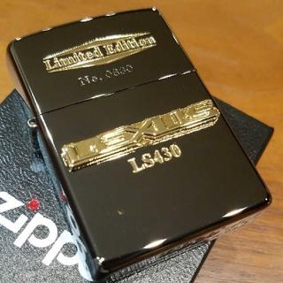 ジッポー(ZIPPO)の【新品】レクサス LS  Zippo  ゴールドプレート立体メタル 限定品(タバコグッズ)