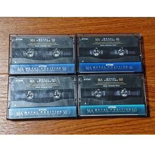 TDK - カセットテープ  メタル  中古  4本