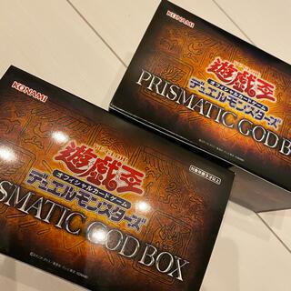 ユウギオウ(遊戯王)の【未開封 新品】 遊戯王 PRISMATIC GOD BOX 2箱セット(Box/デッキ/パック)