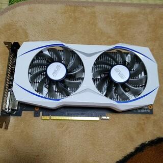 エイスース(ASUS)のasus dual-gtx1050ti-4g(PCパーツ)