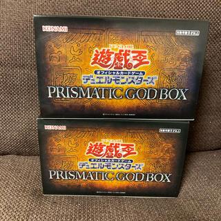 ユウギオウ(遊戯王)の遊戯王 prismatic god box オベリスク オシリス 2BOX 2箱(Box/デッキ/パック)