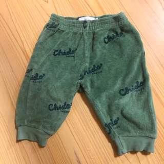 ボボチョース(bobo chose)のtiny cottons タイニーコットンズ  パンツ 75 chido(パンツ)