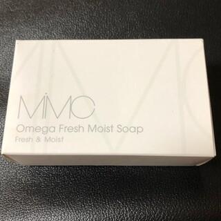 エムアイエムシー(MiMC)のMiMc オメガフレッシュモイストソープ ローズウッド(洗顔料)
