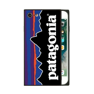 パタゴニア(patagonia)のパタゴニア スクエア ガラスケース iPhoneケース vdlk3h(iPhoneケース)