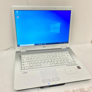 エヌイーシー(NEC)のNECノートパソコン Windows10 中古品 綺麗(ノートPC)