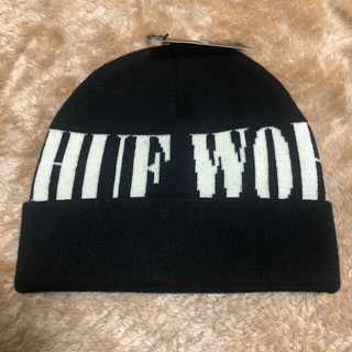ハフ(HUF)のHUF ニット帽 メンズ 黒 ストリート ブラック(ニット帽/ビーニー)