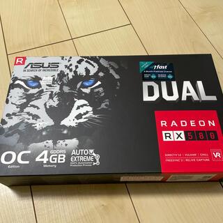 エイスース(ASUS)のAsus RX-580 4GB GDDR5 OC edition(PCパーツ)