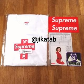 シュプリーム(Supreme)の送込 白XL Supreme Cross Box Logo Tee(Tシャツ/カットソー(半袖/袖なし))