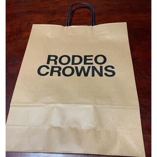 ロデオクラウンズ(RODEO CROWNS)のロデオ ショップ袋(ショップ袋)
