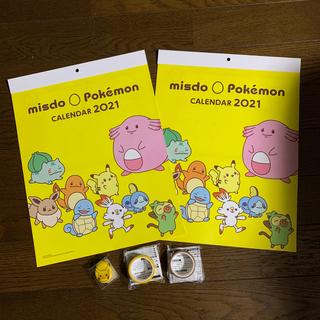 ポケモン(ポケモン)のポケモン カレンダー マステ 豆箸置きセット(カトラリー/箸)