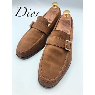 Christian Dior - Diorクリスチャン ディオール スエードモンクストラップシューズ