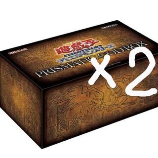 ユウギオウ(遊戯王)の送料無料 prismatic god box ゴッドボックス 遊戯王 2box(その他)