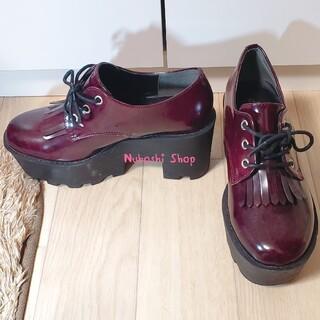 エスペランサ(ESPERANZA)の厚底フリンジローファー♡(ローファー/革靴)
