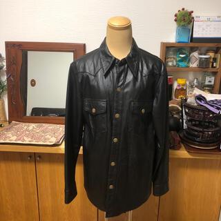 ハーレーダビッドソン(Harley Davidson)のハーレーダビッドソン レザーシャツ ジャケット(レザージャケット)