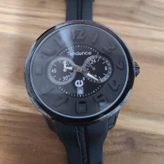テンデンス(Tendence)のテンデンス クロノグラフ オールブラック(腕時計(アナログ))