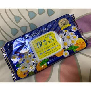 サボリーノ  お疲れさマスク 夜用  カモミールオレンジの香り(パック/フェイスマスク)