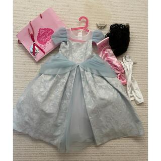 ディズニー(Disney)のシンデレラドレス 110 ビビディバビディブテック(衣装一式)