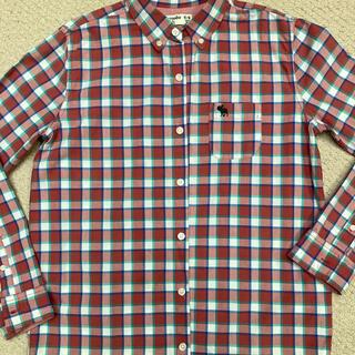 アバクロンビーアンドフィッチ(Abercrombie&Fitch)のアバクロボーイズ 150 160 長袖シャツ キッズ 男の子 チェック(その他)