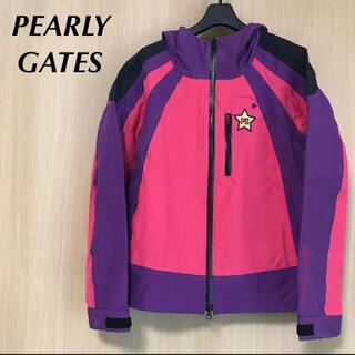パーリーゲイツ(PEARLY GATES)の美品 PEARLYGATES パーリーゲイツ レディース 1 ナイロンジャケット(ウエア)