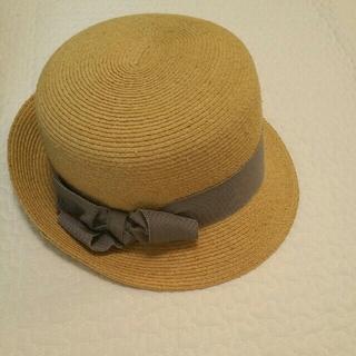 ネストローブ(nest Robe)のサシキ 麦わら帽子(麦わら帽子/ストローハット)